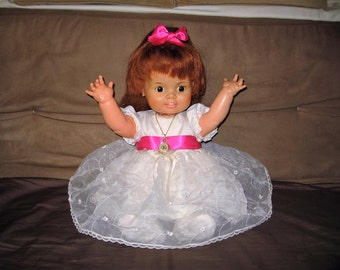 vintage 1972 ideal baby crissy doll