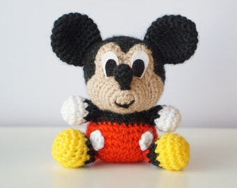 Amigurumi Disney Tutorial : Minnie mouse crochet pattern Etsy