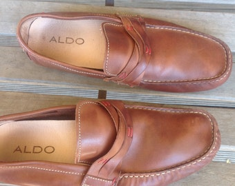 Mens Aldo loafers,size 41