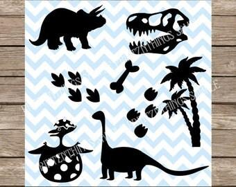 Dinosaurs svg Baby Dino svg Dino svg Trex svg Dinosaur cut file t rex cricut silhouette cameo cutting file svg files Dinosaur clipart