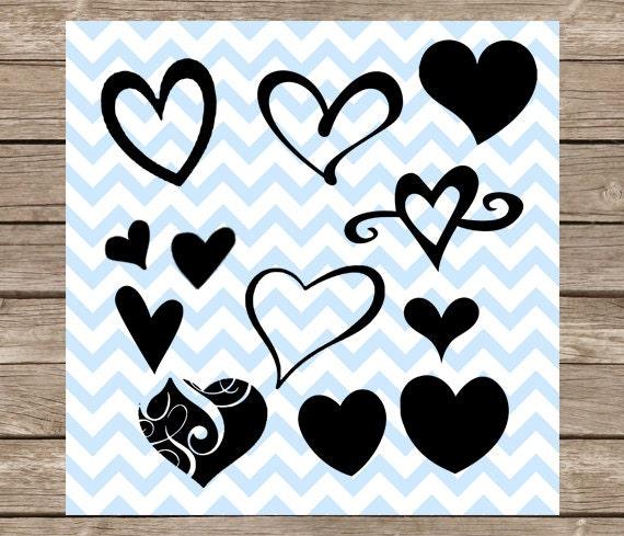 Download Hearts Svg Heart svg Love svg Valentine svg valentines Day ...