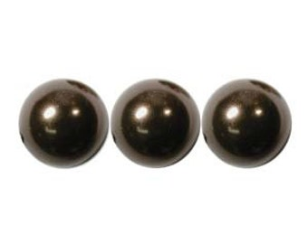 Swarovski Pearl 5810, Deep Brown 6mm 100pc
