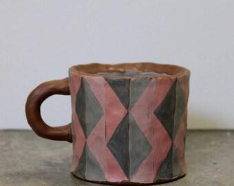 Mug / Argyle pattern