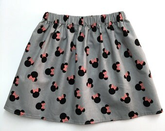 Minnie Mouse Skirt, Minnie Skirt, Disney Skirt, Disneyland Skirt, Disney World Skirt, Disney, Minnie, Minnie Mouse, Disney Trip, Skirts