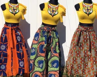 AS-IS African-Inspired Cotton Skirt