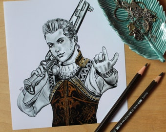 Balthier, Final Fantasy XII Print