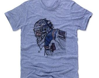 Henrik Lundqvist NHLPA Officially licensed T-Shirt New York S-2XL Henrik Lundqvist Sketch B