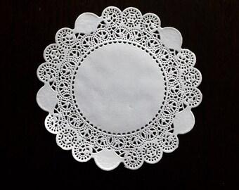 "100 ct. 6"" Royal White Paper Royal Lace Doilies Wedding Doilies Party Decor Gift Wrap"