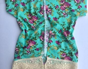 Girls lace kimono | Etsy