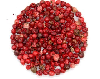 Pink Peppercorns | Organic Dried Herb | Schinus Molle