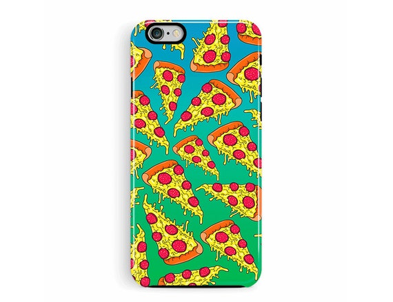PIZZA iPhone 5s Case, PIZZA iPhone case, iPhone SE case, 90s illustration, pizza iphone case, meme iphone case, awesome cell case, 5s cover