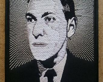 H.P. Lovecraft embroidered patch Cthulhu Shub Niggurath Nyarlathotep