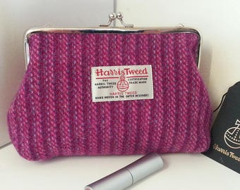 Harris Tweed Cosmetic bag / Make-up Bag