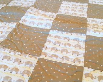 Quilt (Baby's) elephant