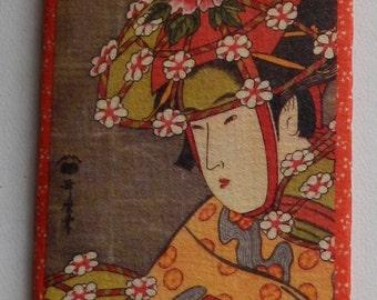 Lovely Japanese Paper Wallet/Billfold!