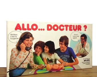 """Game """"Allo Docteur?"""" by Éditions GAY-PLAY Paris"""
