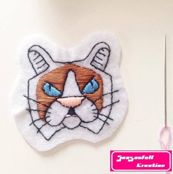 Grumpy cat patch
