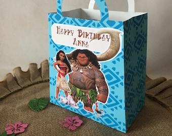 Moana Party Favor Gift Bag 12Ct, Moana Party, Moana Birthday, Moana Loot Bags, Moana Decorations.