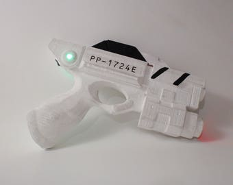 Doctor Who - River Song - Alpha Meson Sonic Blaster  - 3D Printed Reproduction - Doctor Who Cosplay - River Song Cosplay
