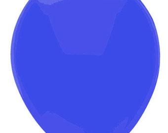 11 inch latex balloon- Neon Blue