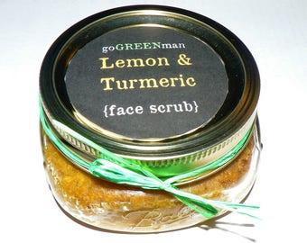 Lemon Turmeric Acne Fighting Face Scrub
