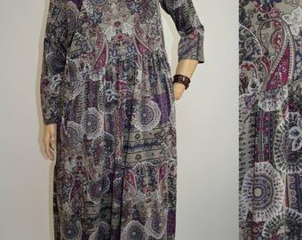 42 44 46 48 / 14 16 18 20 Italian 100% Cotton Wendy Trendy Lagenlook Tunic Dress Pockets
