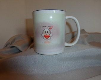 "Coffee Mug ""Love You"""