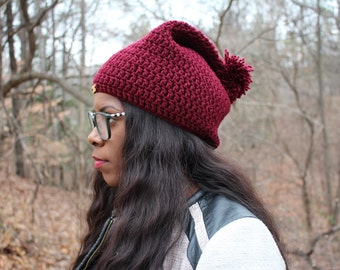 Customized Crochet Adult Hat