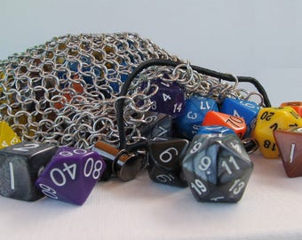 Chainmail Dice Bag - Extra Large