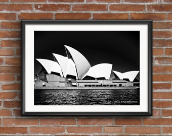 Sydney Opera House Photography Print Printable Art Downloadable Print