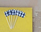 Set of FIVE MINI pennants.