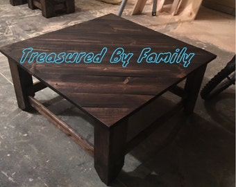 Handmade Solid Wood Coffee Table