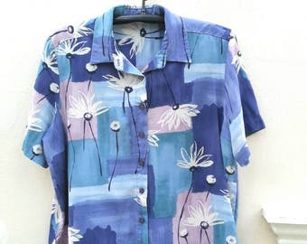 Vintage Hawaiian Shirt  Size L