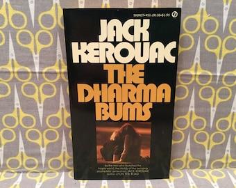 The Dharma Bums by Jack Kerouac paperback book vintage
