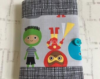 Coloring Wallet - Ann Kelle Super Kids Fabric