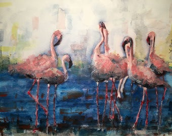 A-684 Flamingos