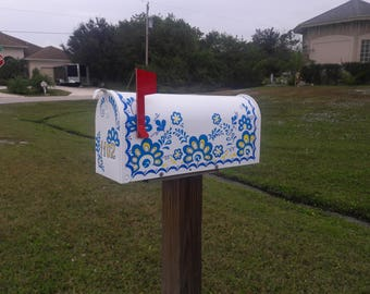 Painted Mailbox to Order