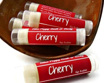 Cherry Lip Balm, Cherry Flavored Lip Balm