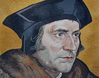 Mosaic Portrait - Sir Thomas More