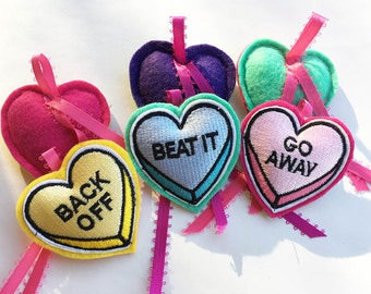 Love Bites Catnip Hearts Cat Toy