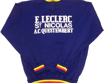 70's vintage cycling jersey made in France