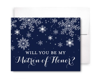 Will You Be My Bridesmaid Card, Bridesmaid Cards, Ask Bridesmaid, Bridesmaid Maid of Honor Gift, Matron of Honor, Flower Girl #CL109