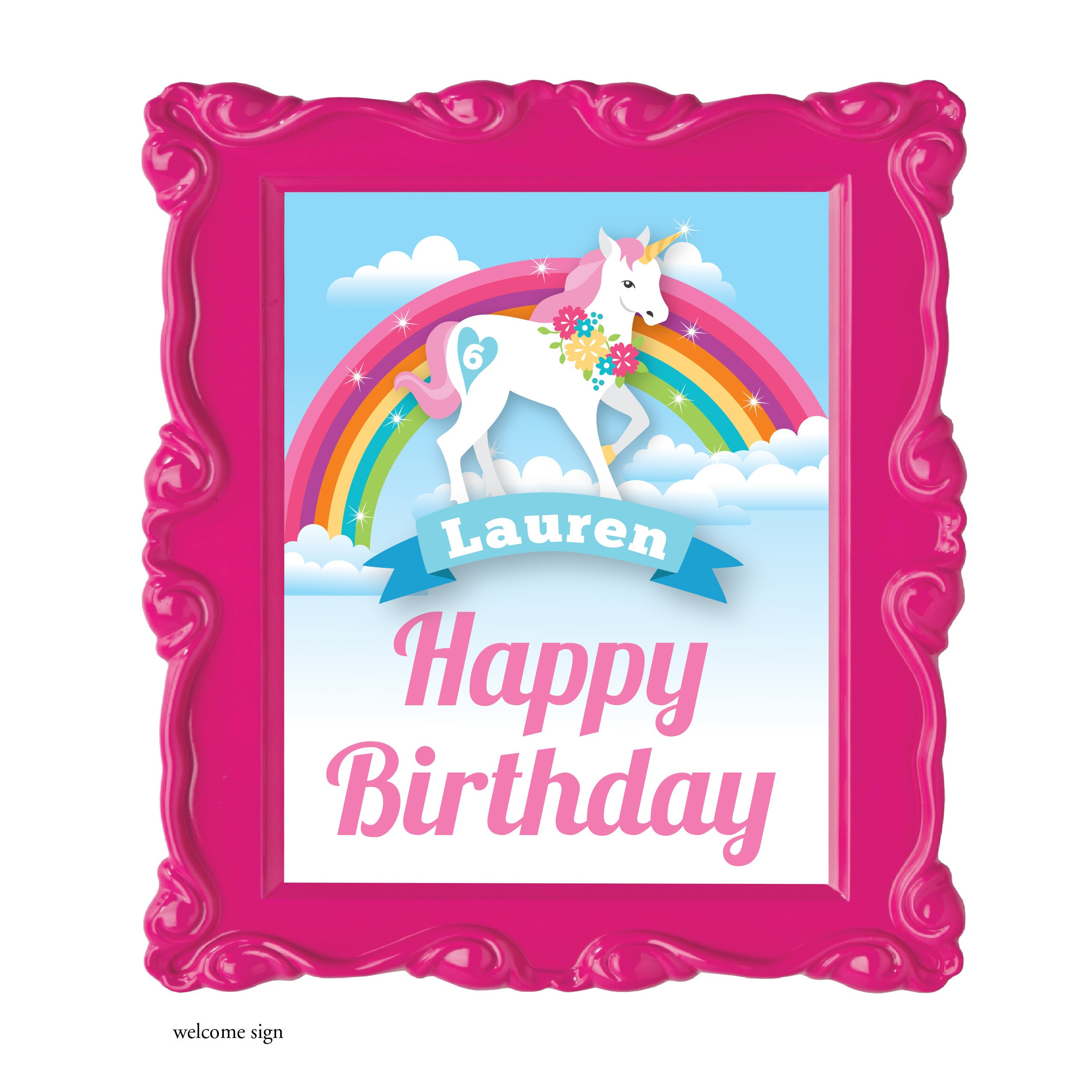 Unicorn party package unicorn party decorations rainbow for 21st birthday decoration packages