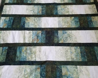Basket Weave twin size quilt top