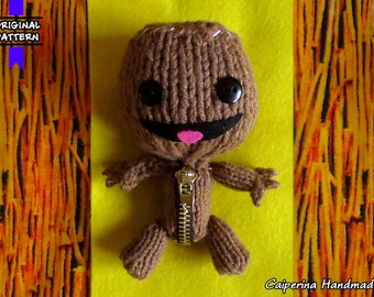 Sackboy - LittleBigPlanet - amigurumi - video game