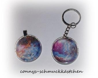 Galaxy Chains or key rings
