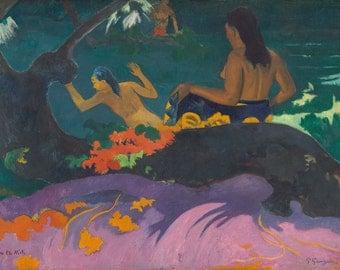 Paul Gauguin: Fatata te Miti (By the Sea). Fine Art Print/Poster. (004093)