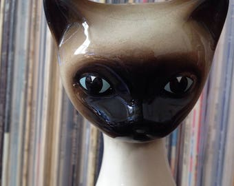 Large Siamese Cat Ornament