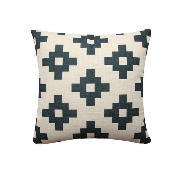 Scandinavian Pillow Covers : Geometric Pillow Cover Black Cushion Cover Scandinavian