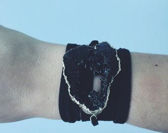 Black x Black Wrap